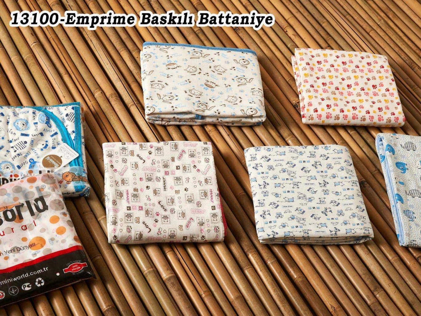 EMPİRME BASKILI BATTANİYE 13100